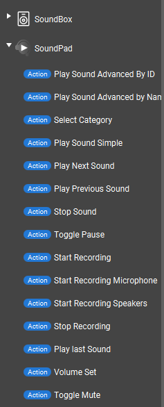 SoundPad plugin do TouchPortal