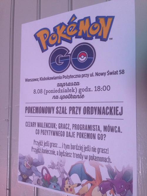 Pokemon Go prezentacja