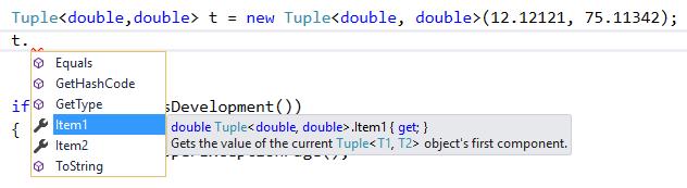 Tuple C#