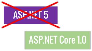 asp.net 5 a asp.net core