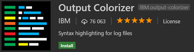 Output Colorizer