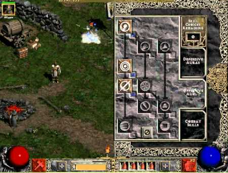 Kocentracja Diablo 2 Paladyn