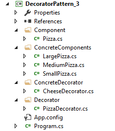 Decorator Pattern Visual Studio 2