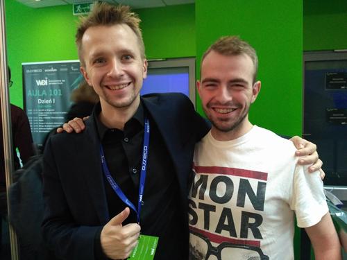 Warszawskie dni informatyki super fan