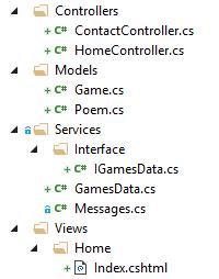 Folders in MVC Project