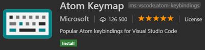 Atom keymap