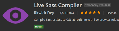 Live Sass Compiler