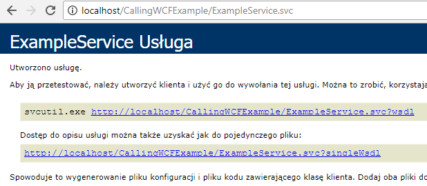 ExampleService WSLD