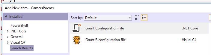 Grunt Config