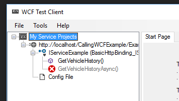 WCF Test Client