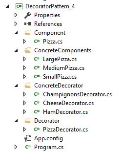 Decorator Pattern Visual Studio 4