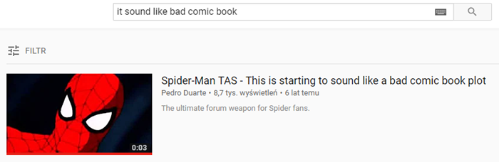 Spiderman Youtube