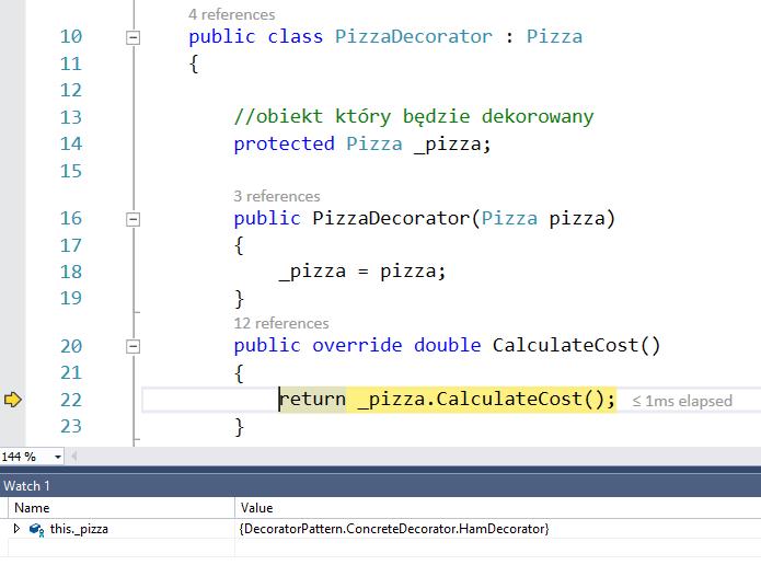 Decorator code 3