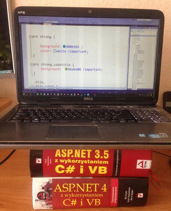 ASP.NET 3.5 z wykorzystaniem C# i VB
